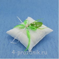Подушка для колец с ландышами podushka020