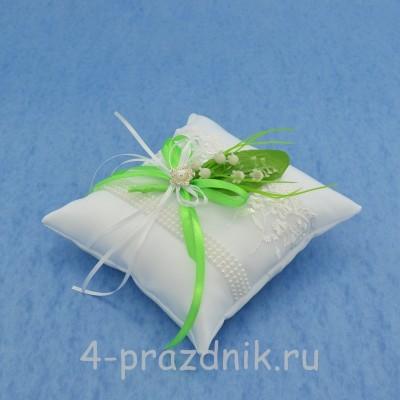 Подушка для колец с ландышами podushka020 оптом