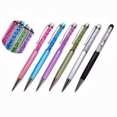 604 Ручка со стразами в подарочной упаковке(16*3,5*2см), в ассортименте