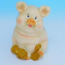 LE-25032 (24наб.) Набор из 2-х свиней, 1 вид, полистоун 8*8*12 см 76106