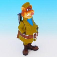 MY-15162 (32)  Кабан-охотник, полистоун 8*9*22см 76131
