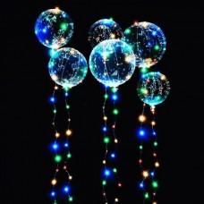 YW-00139 (500) Набор из 12-ти воздушных шаров Baby Balls, d=50 см с 50 LED подсветкой, на батарейках 76290