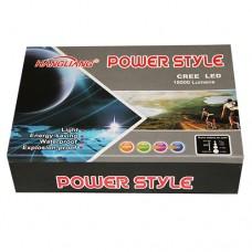 HL-109 Фонарь светодиод. энергосберег., металлич., функция ZOOM, d линзы 22мм, длина ручки 8 см