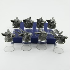 """M-94699 (4) Набор из 8 стопок-перевертышей """"Дикие звери"""" (50мл/стопка)"""