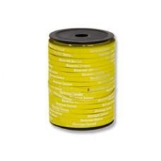 Лента мет 5ммХ500м желт рис ВесЗатея /Ит