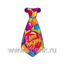Галстук С ДР Шары 8шт/Д 68614