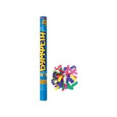 Хлопушка Бумфети 60см конфетти бумага 68134