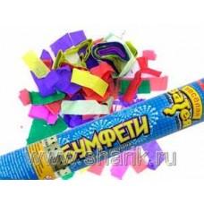 Хлопушка Бумфети 30см конфетти бумага 68141