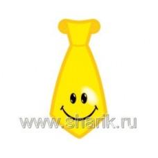 Галстук Улыбка желтый 8шт/Д 68620