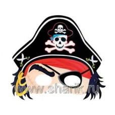 Полумаска Пират 8шт/А 68712