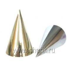 Колпак фольг золото/серебро 8шт/Д