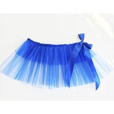 Юбка-пачка детская синяя 61592