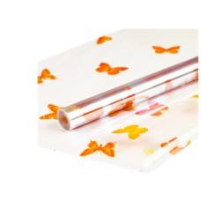 Пленка прозрачная Бабочки 0,7х7,5м