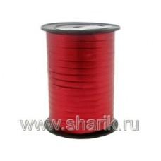 Лента металлизир 5ммХ230м красная