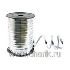 Лента металлизир 5ммХ230м серебряная