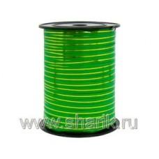 Лента с зол полосой 5ммХ230м зеленая