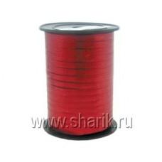 Лента металлизир 5ммХ250м красная #2