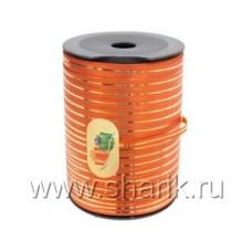 Лента с зол полосой 5ммХ250м оранжев/ Ит