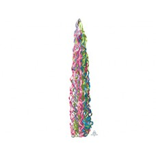 Подвеска-серпантин д/шара разноцвет 86см