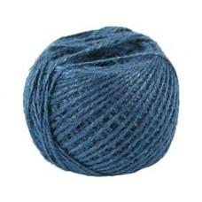 Шпагат джутовый синий 2мм 100м