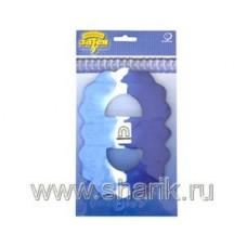 Гирлянда Декор 3,6м сине-бело-голубая 68064