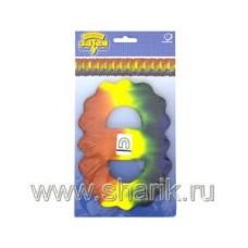 Гирлянда Декор 3,6м оранжево-желто-синяя 68065