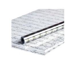 Пленка прозрачная Рукопись 0,7х7,5м