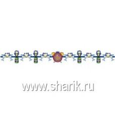 Гирлянда С НГ Шампанское 210см/П