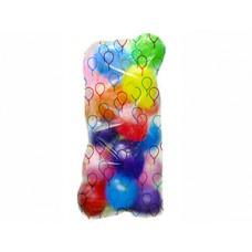 Пакет д/надутых шаров 125*180см шарики