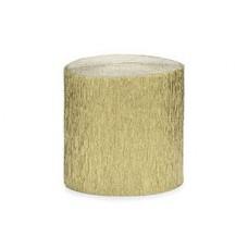 Лента креп бум золотая 5смх10м 4шт/PD