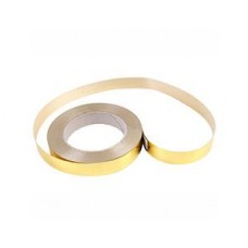 Лента металлизир 20ммХ50ярд золотая