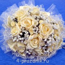 Букет дублёр невесты айвори bukn002