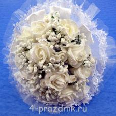 Букет дублёр невесты белый bukn004