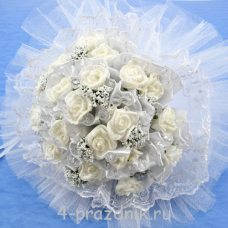 Букет дублёр невесты белый bukn007