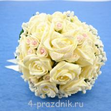 Букет дублёр невесты айвори bukn008