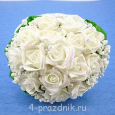 Букет дублёр невесты белый bukn009