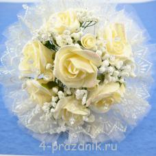 Букет дублёр невесты айвори bukn017