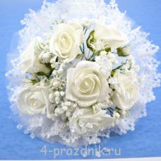 Букет дублёр невесты белый bukn020