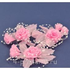 Бутонерки розовые but003