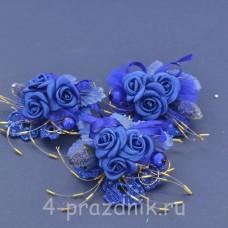Бутонерки синие but004