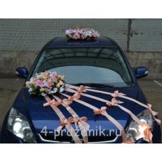 Свадебный Набор для автомобиля, полевые цветы ukav336
