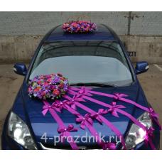 Свадебный Набор для автомобиля, садовые цветы ukav337