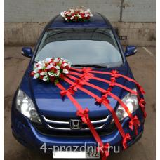 Свадебный Набор для автомобиля, розы и калы ukav338