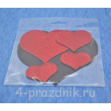 """Магниты """"красные сердца"""" mag001"""