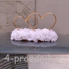 Кольца на крышу, в форме сердец ukav015