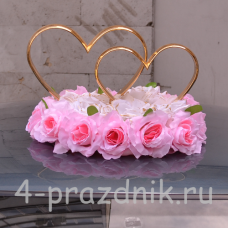 Кольца на крышу, в форме сердец ukav017