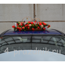 Украшение на авто Кольца на крышу с шишками ukav314