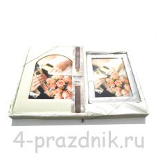 Свадебный фотоальбом + фоторамка foto001