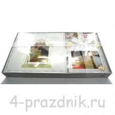 Свадебный фотоальбом + фоторамка с бантиком foto002