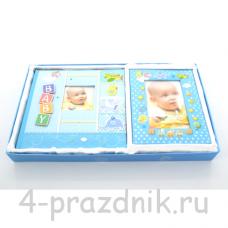 Фотоальбом + фоторамка новорожденному foto006
